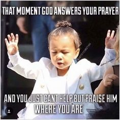 God surely answers prayers at all times. Keep praying for your own miracles to happen – Cumedy Hut – and as best Stress Killer. Prayer Quotes, Bible Verses Quotes, Jesus Quotes, Faith Quotes, Scriptures, Prayer Meme, Discernment Quotes, God Prayer, Quotes Quotes