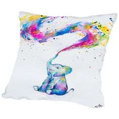 Americanflat Spring (Final) Throw Pillow Size: