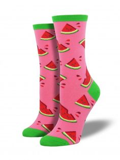 cee01f310 Sunflower Knee High Socks. See more. Juicy Watermelon Socks Watermelon  Patch