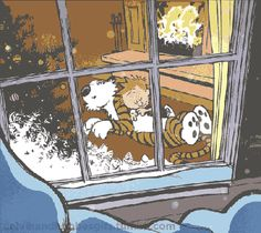 Discover & share this Calvin And Hobbes GIF with everyone you know. GIPHY is how you search, share, discover, and create GIFs. Calvin And Hobbes Quotes, Calvin And Hobbes Comics, Calvin And Hobbes Christmas, Snoopy Wallpaper, Gif Animé, Cartoon Network Adventure Time, Cartoon Memes, Fun Comics, Comic Strips