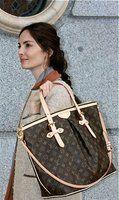 alexa chung in birkenstocks lv bag in new york