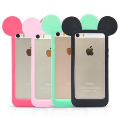 Mickey Mouse Phone Case Cell Phones & Accessories - Cell Phone, Cases & Covers - http://amzn.to/2jXZVL6