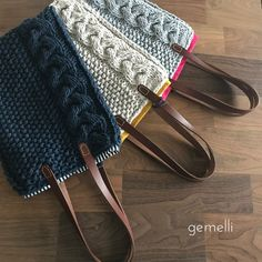 Crochet Tote, Knit Crochet, Hand Knit Bag, Homemade Bags, Hardanger Embroidery, Cute Bags, Knitted Bags, Knitting Stitches, My Bags
