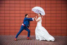 Bruid en bruidegom Foto door: Kisses & Confetti // Marco Pauws / Claudia Pauws.