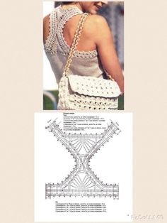 This Pin was discovered by Ири Crochet Crop Top, Crochet Blouse, Crochet Bikini, Crochet Bolero Pattern, Crochet Patterns, Summer Tops, Crochet Clothes, Liz Claiborne, Crochet Projects