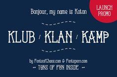 Best Koton Kollection font - launch promo