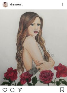 Briar Rose - by Diana Chirescu Briar Rose, Rose Art, Prismacolor, Art Sketches, Diana, Disney Characters, Fictional Characters, My Arts, Profile