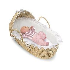 Baby Moses Basket Pad Sheet Liner Bassinet w/Removable Hood Machine Washable Pad