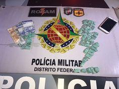 Foto: PMDF/internet/reprodução.     No inicio desta noite (12), policiais militares da Rotam, apre...