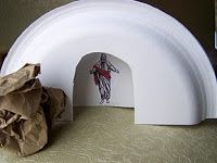 We Talk of Christ, We Rejoice In Christ: Paper Plate Tombs