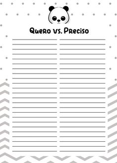 Planners 2019 Panda Menino queroxpreciso Printable Labels, Printable Planner, Planner Stickers, Agenda Planner, Planner Book, Bullet Journal Tracker, Bullet Journal Ideas Pages, Diy Back To School, Study Organization