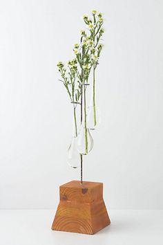 Vertical Chemist Vase #anthropologie