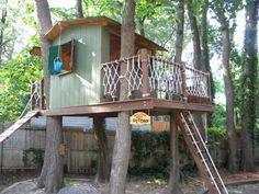 Simple Kids Tree Houses