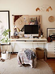 Home office - CALIFORNIA DREAMING Kinfolk