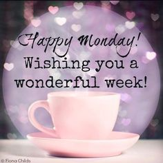 Happy Monday! Wishing all my pinner friends a great week! #MondayMotivation #HereWeGoAgain #Pinspiration www.happyhealthysmart.blogspot.com
