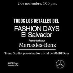 Mañana da inicio el @mbfwsv  ¡Y esta noche les traemos todos los detalles! Organizadores, patrocinadores, diseñadores y modelos conversarán con nosotros para compartir su trabajo y adelantos de esta edición del #MBFDays