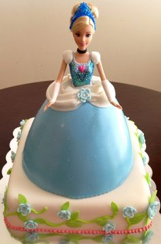 Cinderella Doll Cake - by Bake A Wish