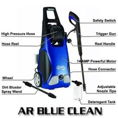 Before, most people would arm themselves with a hand brush, a bucket, detergents or cleaning chemicals, and a garden hose in order for them to clean a Pressure Washer Tips, Pressure Washers, Cleaning Chemicals, Safety Switch, Hose Reel, Costco, Electric, Club, Check