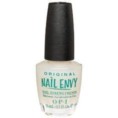 OPI Nail Envy natural nail strengthener. Love this stuff. Works wonders!
