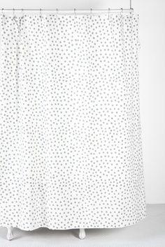 Plum & Bow Polka Dot Shower Curtain