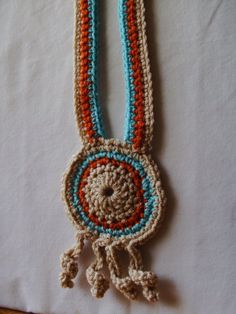 *True Airy Swirly* Crochet Necklace, Eclectic Oasis on Etsy