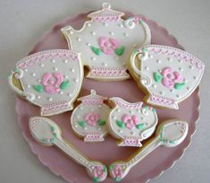Tea Time Cookies Again! | Cool Cookies and Cupcakes | Pinterest