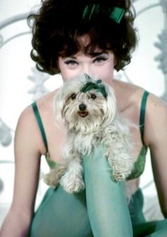 Shirley MacLaine photographed for Irma la Douce, 1963