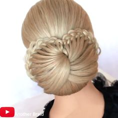 Amazing😍😍 By: Amazing😍😍 By: Hairdo For Long Hair, Bun Hairstyles For Long Hair, Braided Hairstyles, Female Hairstyles, Amazing Hairstyles, Hairstyle Men, Style Hairstyle, Hairstyles 2018, Front Hair Styles