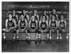 Duke basketball team, 1942-43.