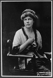 Lucy Burns (April 20, 1879 – September 15, 1966) was an American suffragist and women's rights advocate.[1] She was a passionate activist in the United States and in the United Kingdom. Burns was a close friend of Alice Paul, and together they ultimately formed the National Woman's Party. Lucy Burns spent more time in jail and endured horrible treatment and conditions in her quest to secure for women the right to vote. She is a true American hero.