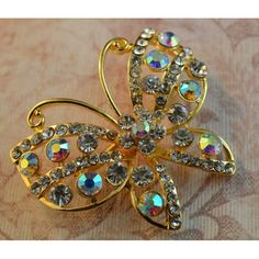 Lovely Small Butterfly Brooch - Virtual Global Market