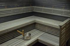 saunan lauteet   Saunapaketti Wicco Sauna Primus 6.3 L-lauteella 5,8m2 2400/1950 mm