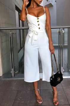 Backless Jumpsuit, Jumpsuit Outfit, Casual Jumpsuit, White Jumpsuit, Formal Jumpsuit, Bodycon Dress, Rompers Women, Jumpsuits For Women, Types Of Fashion Styles