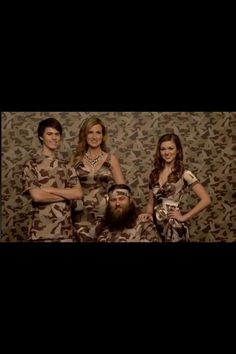 Duck Dynasty. Love this picture of Willie, Korie, John Luke, & Sadie