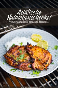 de - If you are looking for a quick marinade and want to make chicken legs from the grill, then we have - Asian Chicken, Chicken Legs, Teriyaki Chicken, Tandoori Chicken, Italian Recipes, Mexican Food Recipes, Ethnic Recipes, Good Food, Yummy Food