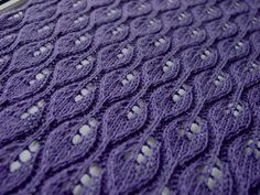 "dailyyarn: "" Purple Flames, by Breibeest on Flickr. """