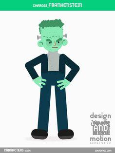CHAR068_Frankenstein. Part of D&M Character Kit.