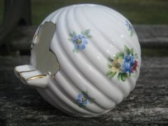 Vintage 1950's Porcelain Ashtray With Flower by TreeTownPaper, $10.00