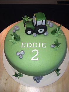 Traktortårta Desserts, Food, Birthday Cakes, Tailgate Desserts, Deserts, Essen, Postres, Meals, Dessert