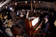 hiring a local band who doesn't specialize in weddings can save $ and give your guests something new to hear.