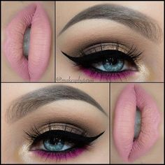I think I could do this look with my Too Faced Chocolate Bon Bons palette