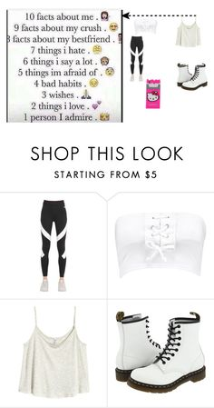"""""""Facts in the D"""" by unicornzboss ❤ liked on Polyvore featuring interior, interiors, interior design, home, home decor, interior decorating, NIKE, Boohoo, H&M and Dr. Martens"""