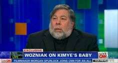 Huh? Kanye's birthday gift from Kim was... Woz?