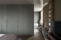 We're longtime admirers of Ilse Crawford's London flat, situated in the heart of Borough, which she designed in collaboration with Vincent Van Duysen and 6 One Bedroom, Dream Bedroom, Bedroom Decor, Vincent Van Duysen, Warehouse Home, Interior Architecture, Interior Design, Georgian Homes, Lofts