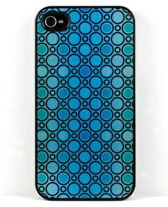 Metallic Mod Dots Iphone Case
