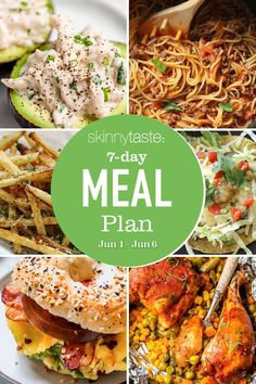 A free 7-day, flexible weight loss meal plan including breakfast, lunch and dinner and a shopping list. All recipes include calories and updated WW Smart Points. #mealplan Healthy Recipes For Weight Loss, Weight Loss Meal Plan, Pb And J Smoothie, Smoothies, Clean Eating, Healthy Eating, Healthy Meals, Delicious Meals, Vegan Meals