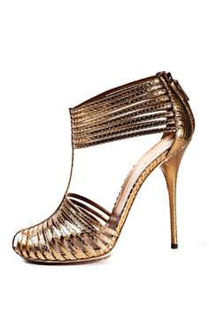 #3 - 3 Stylish Metallic Gucci High Heels ... → Shoes