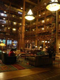 Walt Disney World's Wilderness Lodge - Lobby