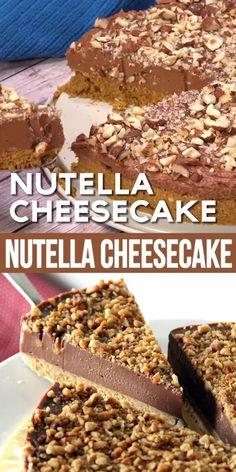 Easy Cake Recipes, Easy Desserts, Baking Recipes, Dessert Recipes, Desserts Nutella, Baking Desserts, Recipes With Nutella, Bread Recipes, Marshmallow Desserts