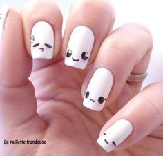 Kawaii nail art is a very famous and cute looking in Japanese series. Kawaii nail art is a very famous and cute looking in Japanese series. Here are the top 9 Kawaii nail art designs that you can try out. Nail Art Kawaii, Cute Nail Art, Love Nails, Pretty Nails, Nagel Hacks, Cute Nail Designs, Awesome Designs, Simple Nails, Nail Arts